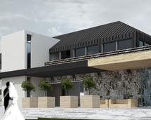 projektowanie domu weselnego z hotelem