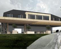 projektowanie pensjonatu z domem weselnym