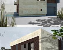 willa nowoczesna- styl minimalizm
