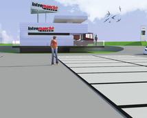 stacja paliw - projekt
