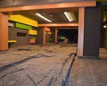 nadzory nad projektem wnętrz, aranżacja pubu Avocado