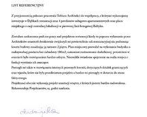 referencje budynków usługowych restauracjai oraz projektów wnętrzarskich
