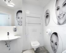 łazienka w przychodni