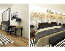 pokój hotelowy Podklasztorze