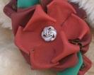 Klamra z różą (prywatne)