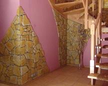 Kamień gipsowy kolor nr 17 fuga szara