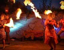 Płonące laski 4 fot. izabelkowa