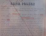 Dokumenty Banku Polskiego