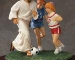 Jezus piłkarz