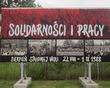 """Wystawa plenerowa """"Sierpień Solidarności"""""""