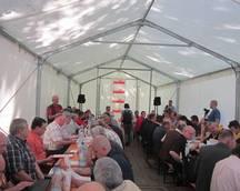 Komisja Krajowa pod namiotem