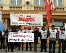 Manifestacja poparcia w Rzeszowie