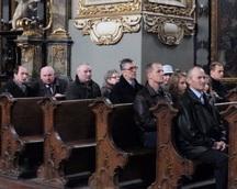 """Poświęcenie Sztandaru MOZ NSZZ """"S"""" Pilkinton Sandomierz"""