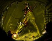 W Baśni Zaklęci (2009)              Na skraju wyobraźni szumiał stary gaj. W nim na bestii straszny drań. Czego węszył?. Czego chciał? Czyżby skarbów tutaj szukał?.