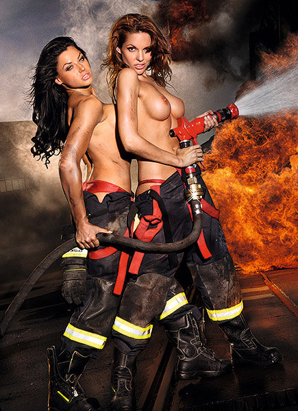 Nude firefighters girls