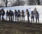 Dziewczyny z AGROSU przed biegiem