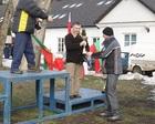 Trener Mazurek odbiera kolejny puchar