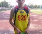 Karol Przed biegiem na 400 m