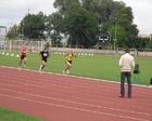 Aruś w biegu na 600 m