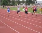 Kuba i Ernest w biegu na 100 m