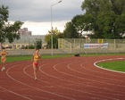 Aldona i Agata w biegu na 300 m