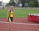 Ernest tuż przed biegiem na 400 m