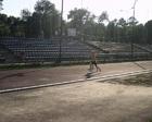 Damian kończy swój bieg