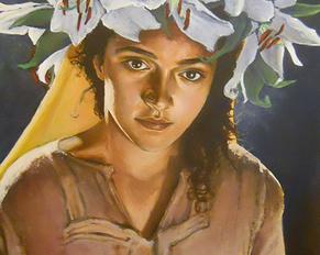 """""""Maria"""" akryl na płótnie. 2012"""