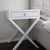 szafka nocna drewno biała wrocław