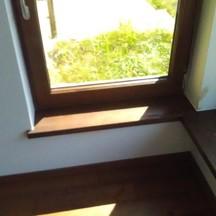 drewniany parapet na zamówienie z montażem wrocław śródmieście