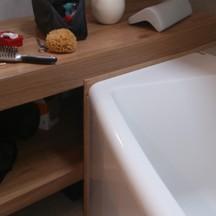 łazienkowa szafka drewniana wrocław
