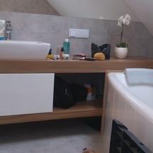drewniana szafka do łazienki wrocław