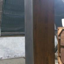 Słupek drewniany do łazienki wrocław na zamówienie