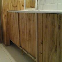 szafka łazienkowa drewniana na wymiar wrocław