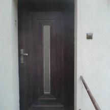 drzwi dębowe z montażem zewnętrzne stolar wrocław