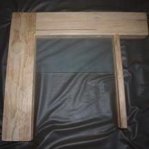 przeszklone drzwi wrocław z drewna sosnowego na zamówienie