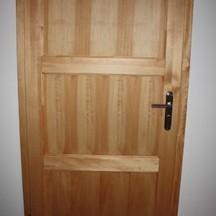 drewniane drzwi sosnowe wrocław fabryczna na wymiar