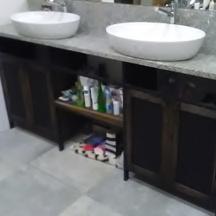 szafka loftowa łazienkowa metal drewno na zamówienie wrocław