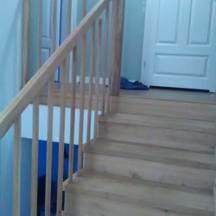 schody na beton dąb, ręczna robota wrocław