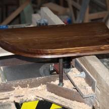 drewniana półka sosnowa na zamówienie wrocław stolarz