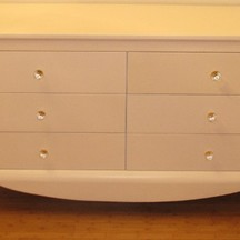 komoda drewniana stylizowana biała wrocław krzyki na zamówienie