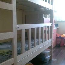 drewniane łóżko dziecięce piętrowe wrocław na zamówienie