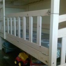 dziecięce łóżko drewniane dwupiętrowe na zamówienie wrocław