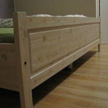 łóżko do sypialni drewniane na zamówienie wrocław