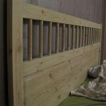 drewniane łóżko sypialnia wrocław gaj