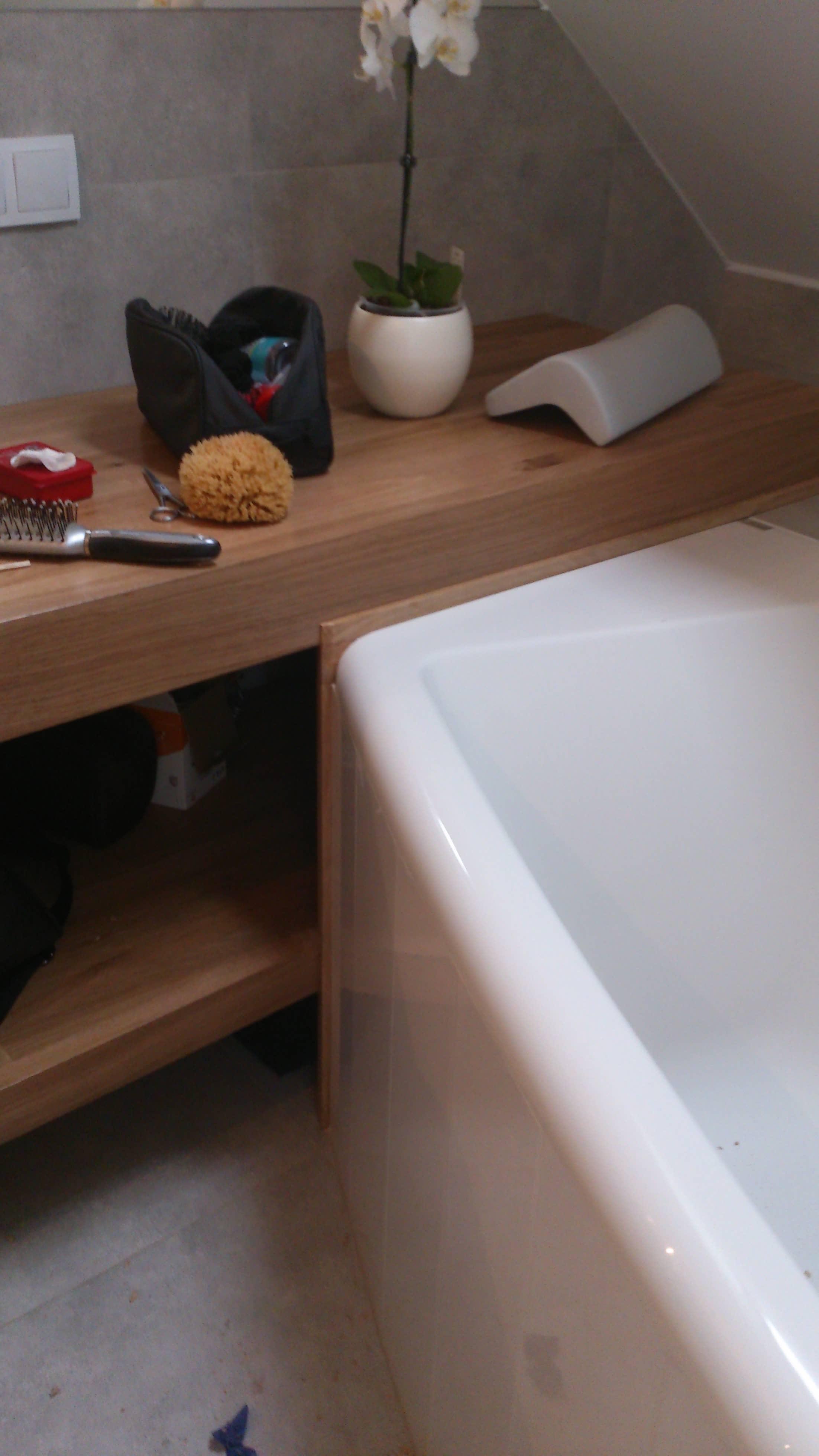 drewniana szafka łazienkowa na zamówienie wrocław