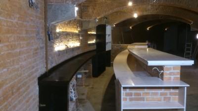 zabudowa baru restauracyjnego wrocław stolarz
