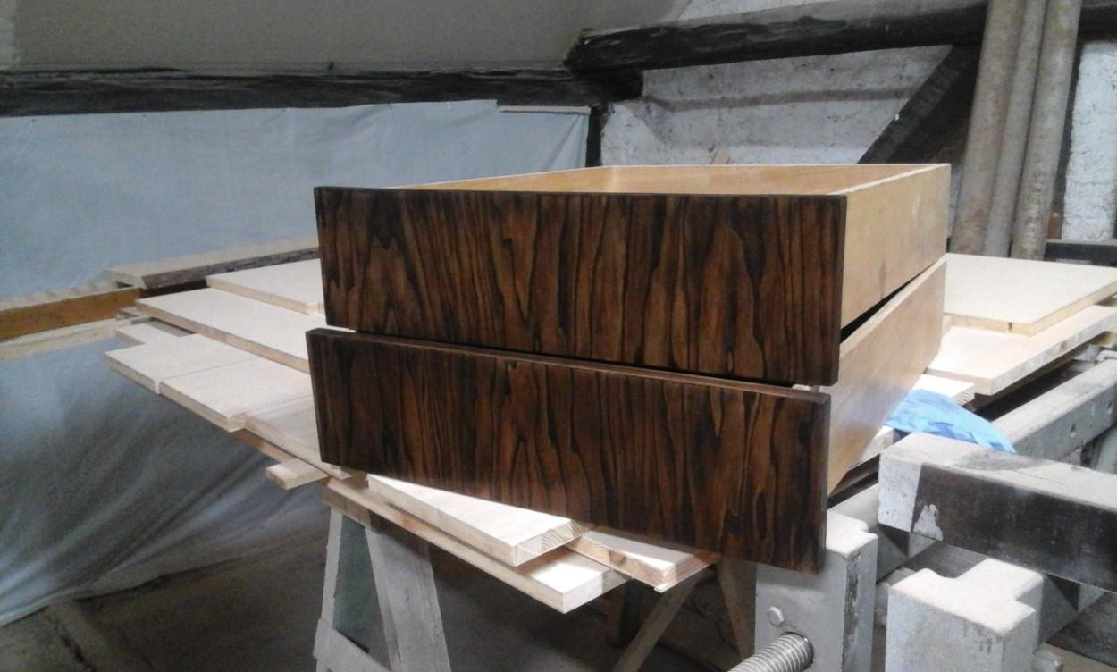 szuflada z drewna na zamówienie wrocław