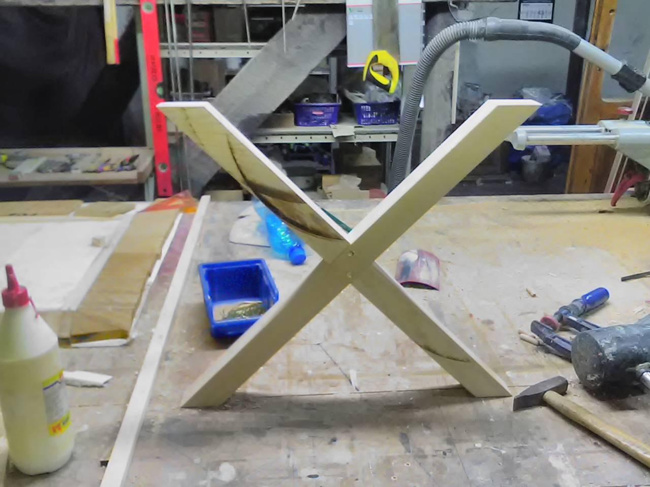 gotowe nózki krzyżowe do szafek nocnych z drewna wrocław