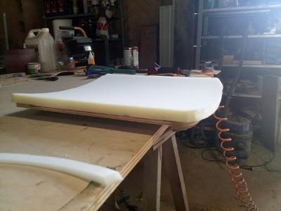 pianka tapicerska-nakładanie